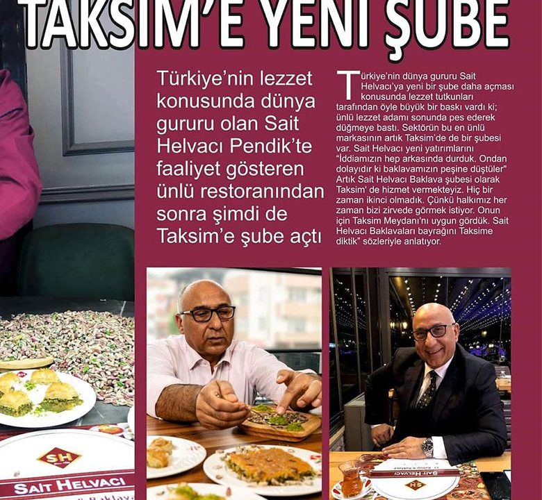 Taksime Yeni Şube